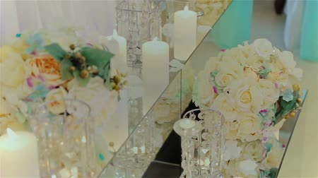 eleganckie : Beautifully decorated wedding table HD