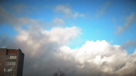 altostratus : storm clouds. the suns rays illuminate the storm clouds HD