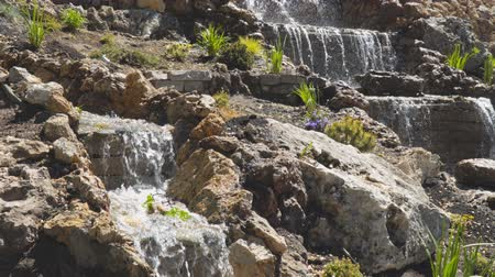 quintal : A small decorative waterfall in the Park or in the garden. Landscape design