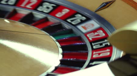 ruleta : Ruleta giratoria Archivo de Video