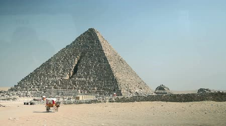 piramit : In vehicle shot of pyramid