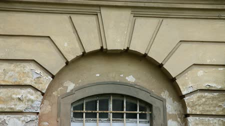 význam : Close up of an window on abandoned and old building