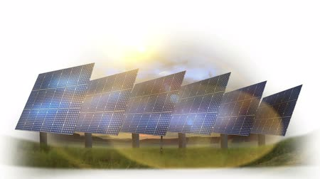 e : Animated solar plant