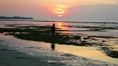 indonesia : Sunset on Gili Air island, Indonesia