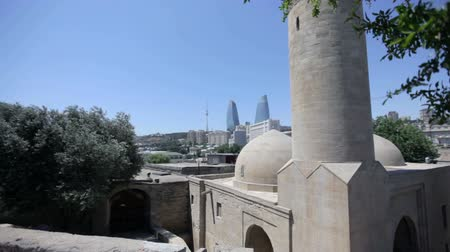 stare miasto : Palace of the Shirvanshahs in Baku, Azerbaijan. Palace of the Shirvanshahs in Baku, Azerbaijan