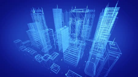 glass structure : Architectural Blueprint Of Contemporary Buildings, Blue Tint