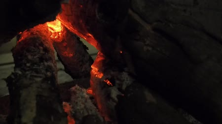 wood burner : Charcoal fire in the fireplace.Have a warm and relaxed feeling