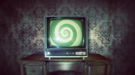 muster retro : retro tv mit Hypno Spirale Videos