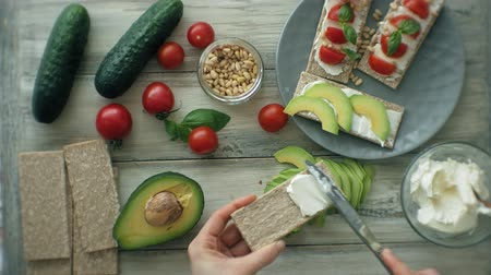 twaróg : Cooking Healthy Veggie Sandwiches