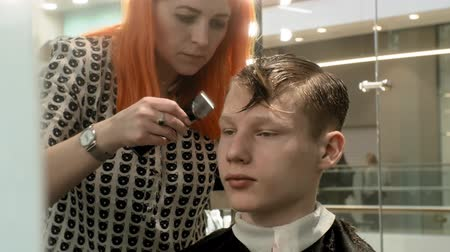 barber hair cut : hairdresser, childrens and mens haircuts