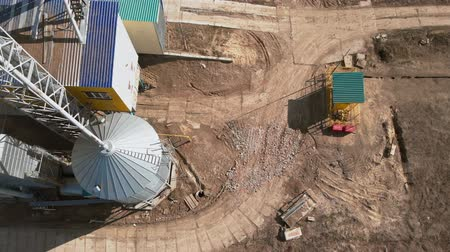 bird eggs : grain storage hangars, aerial survey
