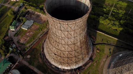 nuclear power : CHP pipes. aerial survey