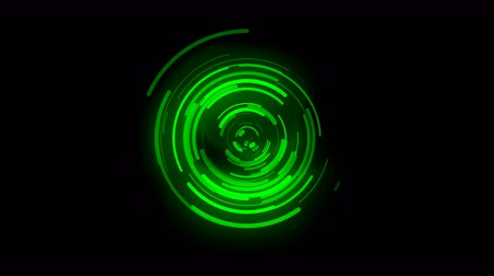 зеленый фон : 3D animated background, green curve movement, curve being distributed, signal transmission