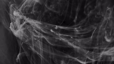 наложение : smoke on black background. Black and white abstraction.