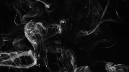 abstrakcja : Abstract smoke on black background