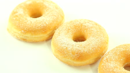 doughnut : Donuts on white background
