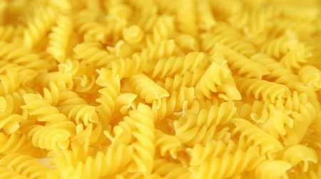 makarna : Pasta background, dolly-shot
