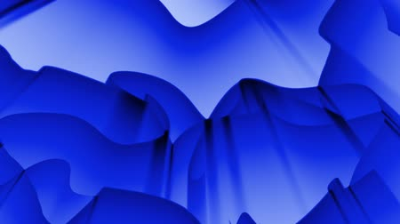 vetor : Abstract blue background Stock Footage