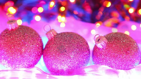 önemsiz şey : Beautiful Christmas background with defocused colorful lights
