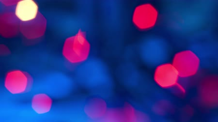 fuksja : blue and fuchsia lights, abstract backgrounds Wideo