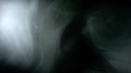 gray background : Smoke abstract background Stock Footage