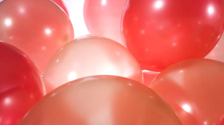 doğum günü : Colorful balloons birthday party background Stok Video