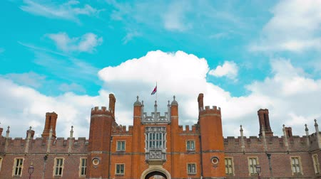 saray : London, Hampton Court Palace Stok Video