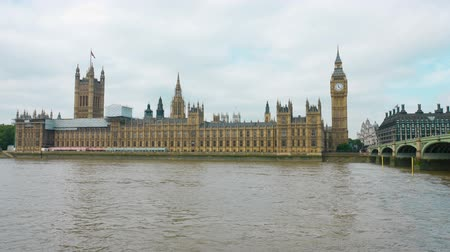 büyük britanya : Westminster bridge, Big Ben and Palace of Westminster House of Commons London