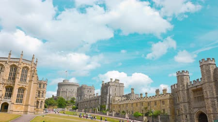 королева : WIndsor Castle, official residence of The Queen