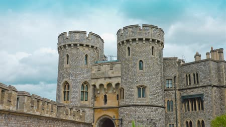 средневековый : Medieval historic Windsor castle