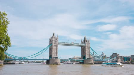 londra : London Tower Bridge, famous touristic attraction landmark
