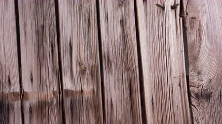 Aged wood boards, old classic country wooden house wall