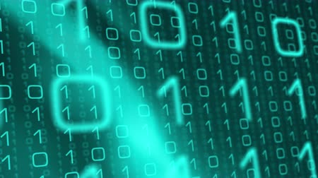 número : Binary coding background, cyber attack crime