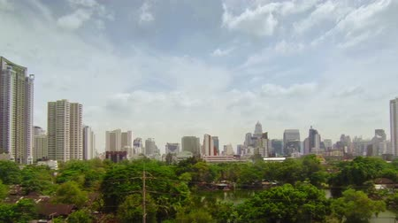 Video 1920x1080 - View of the center of Bangkok city with panning