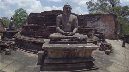 polonnaruwa : Video 1920x1080 - Landmarks of Sri Lanka. Ruined Buddhist temple complex.