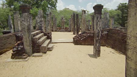 polonnaruwa : 1920x1080 video - The ruins of ancient temples. Sri Lanka, Polonnaruwa