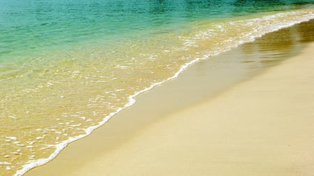 serene : Video 1080p - Calm tropical sea and a sandy beach