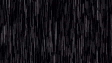 hiss : Heavy rain roars and hisses creating a dense impenetrable curtain as it falls through a black night time sky. with sound. Video 4k 2160p Stock Footage