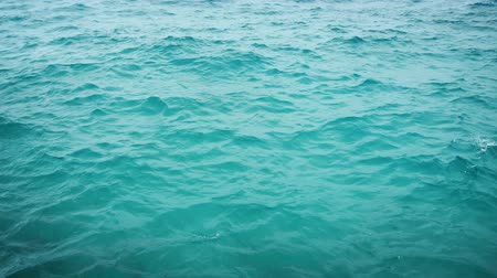 water conservation : Surface of the sea near the shore. Stock footage in 4k resolution