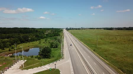 без городского : Trucks And Cars On A New Rural Highway