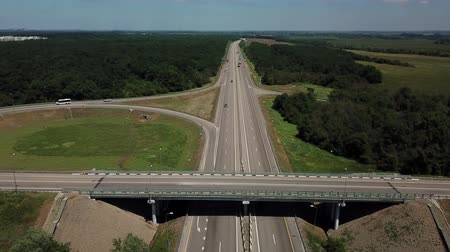 jetel : Cloverleaf interchange seen from above.