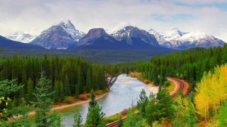 Landscape in Banff National Park, Canada.
