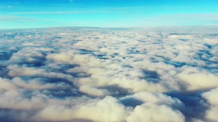 gezi : Beautiful cloud in sky viewed from airplane
