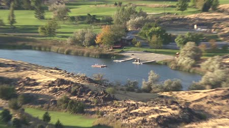 cobra : View of the Snake River  from the bridge near Pocatello