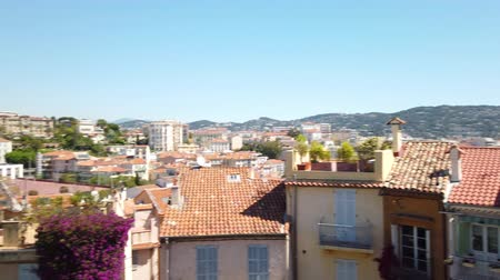 Panoramic View Of Beautiful Architecture And Historic Houses Downtown City Of Cannes
