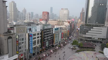 yangtze : SHANGHAI, CN - MAR 17 2015:Visitors at Nanjing Road. It is the main shopping street of Shanghai, China, and is one of the worlds busiest shopping streets.