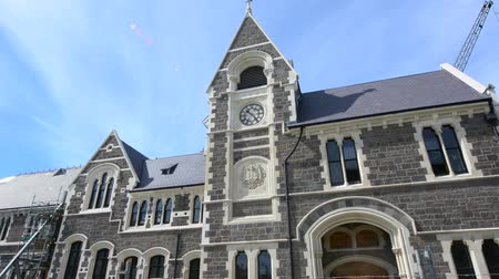 nzl : Christchurch Arts Centre.Following 2011 Christchurch earthquake the complex closed and require major repair work estimated at NZ$290m, will open again in stages till in 2019
