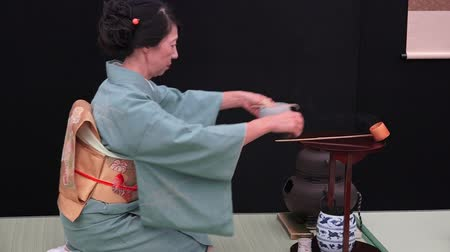 Японская культура : Japanese tea ceremony. The Way of Tea, is a Japanese cultural activity involving the ceremonial preparation and presentation of matcha powdered green tea, last up to four hours.