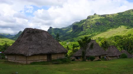 melanesia : Fijian bures in Navala village in the Ba Highlands of northern-central Viti Levu, Fiji. It is one of the few settlements in Fiji which remains fully traditional architecturally.