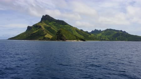 melanesia : Landscape of one of Yasawa islands.The Yasawa Islands of Fiji are a volcanic archipelago lying north West to the main Island of Fiji, Viti levu. The group, is a very popular tourist destination.